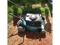 Two b&q lawnmower