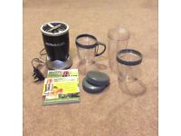 Immaculate nutribullet bullet with all accessories and books