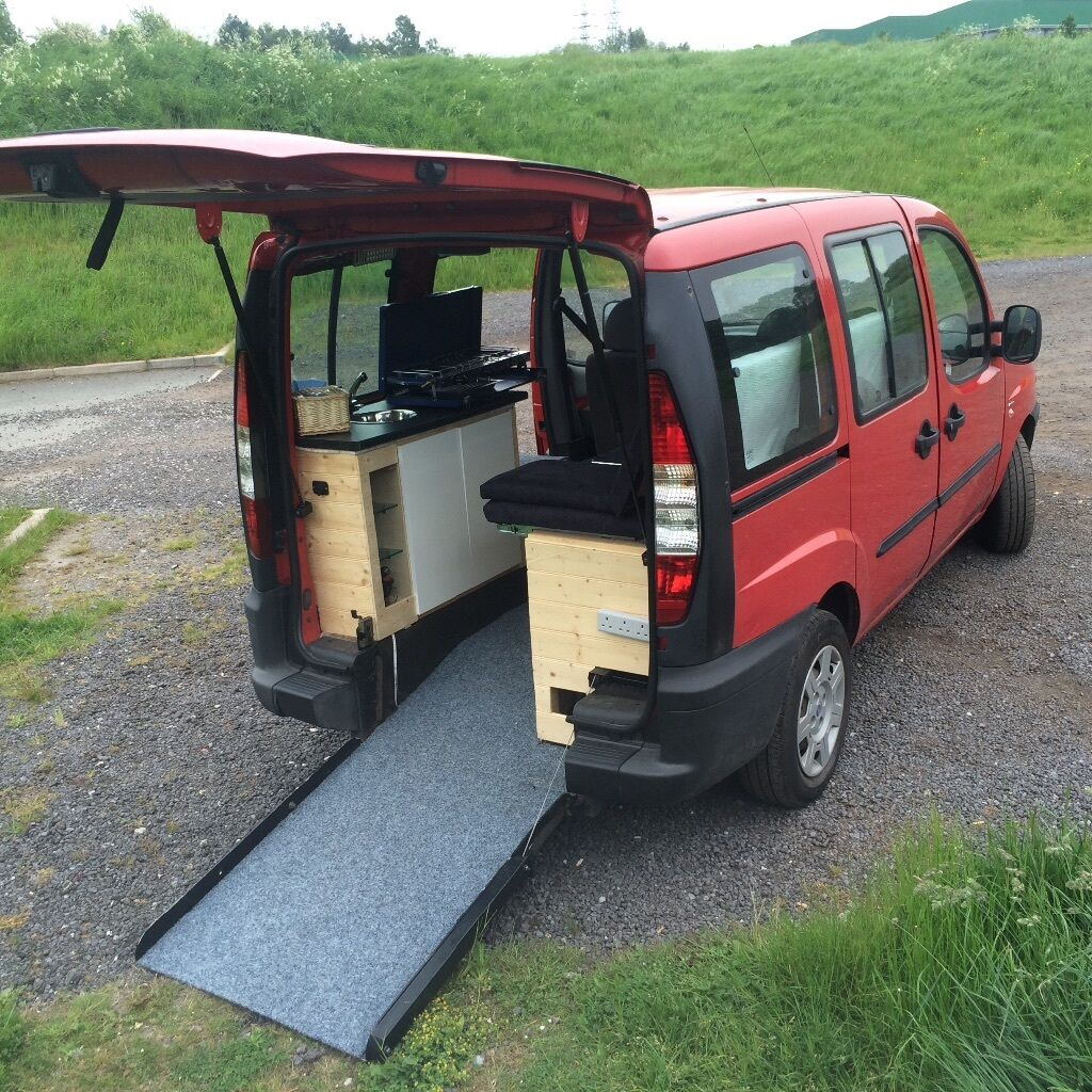 2005 Fiat Doblo Campervan Wheelchair Conversion In Chesterfield Derbyshire Gumtree