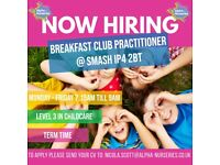 ✨ SMASH are hiring - Breakfast Club Practitioners ✨