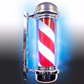 Rotating Barber Pole for sale.