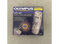 Olympus DS-40 digital voice recorder
