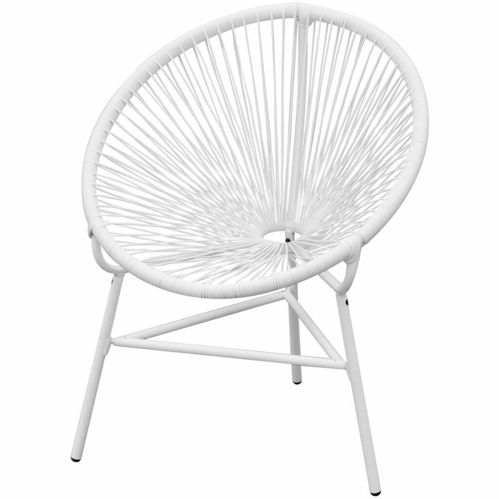 Phenomenal Garden String Moon Chair Poly Rattan White In Victoria London Gumtree Forskolin Free Trial Chair Design Images Forskolin Free Trialorg