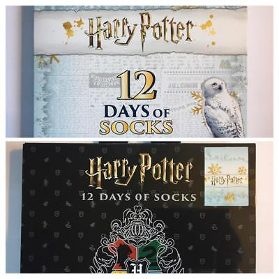 Female Harry Potter (Male & Female Harry Potter 12 Days (12 PAIR Of SOCKS) of Socks  Same Day Ship)