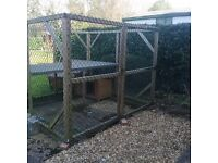 Dog Run and Kennell for sale in good conditions ,needs to be taken apart