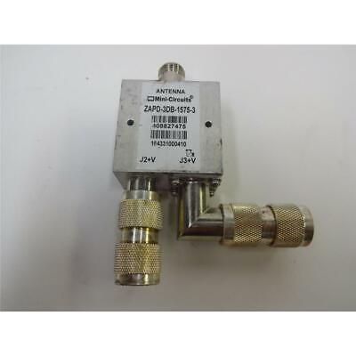 Mini-circuits 2 Way N Type Premium Active Gps Power Splitter Zapd-3db-1575-3