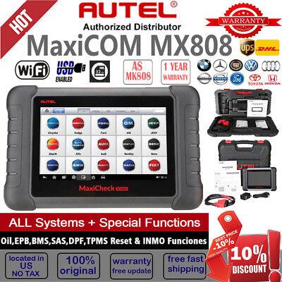 Autel MaxiCheck MX808 MK808 OBD2 Diagnostic Scanner Tool TPMS Key program DS808