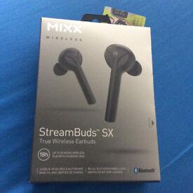 MIXX Streambuds SX Earbuds Black