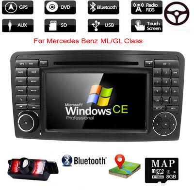 Mercedes Benz W164 ML300 X164 GL320 Autoradio GPS Navigation DVD Player DTV 3G