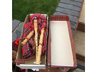 Set of new boxed bag pipes £20