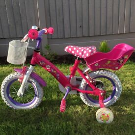"Girls 12"" Minni Bow-tique Bike"