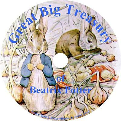 The Great Big Treasury of Beatrix Potter Childrens Audiobook Fiction on 1 MP3 CD
