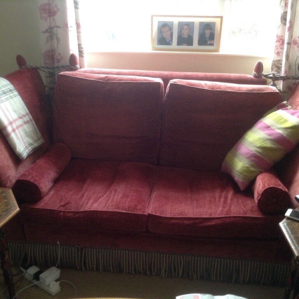Knole style sofa (pair)