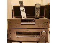 SONY STR DB940 Amplifier with Remote+ SONY DVP NS900V DVD Player with Remote + ELTAX Speaker