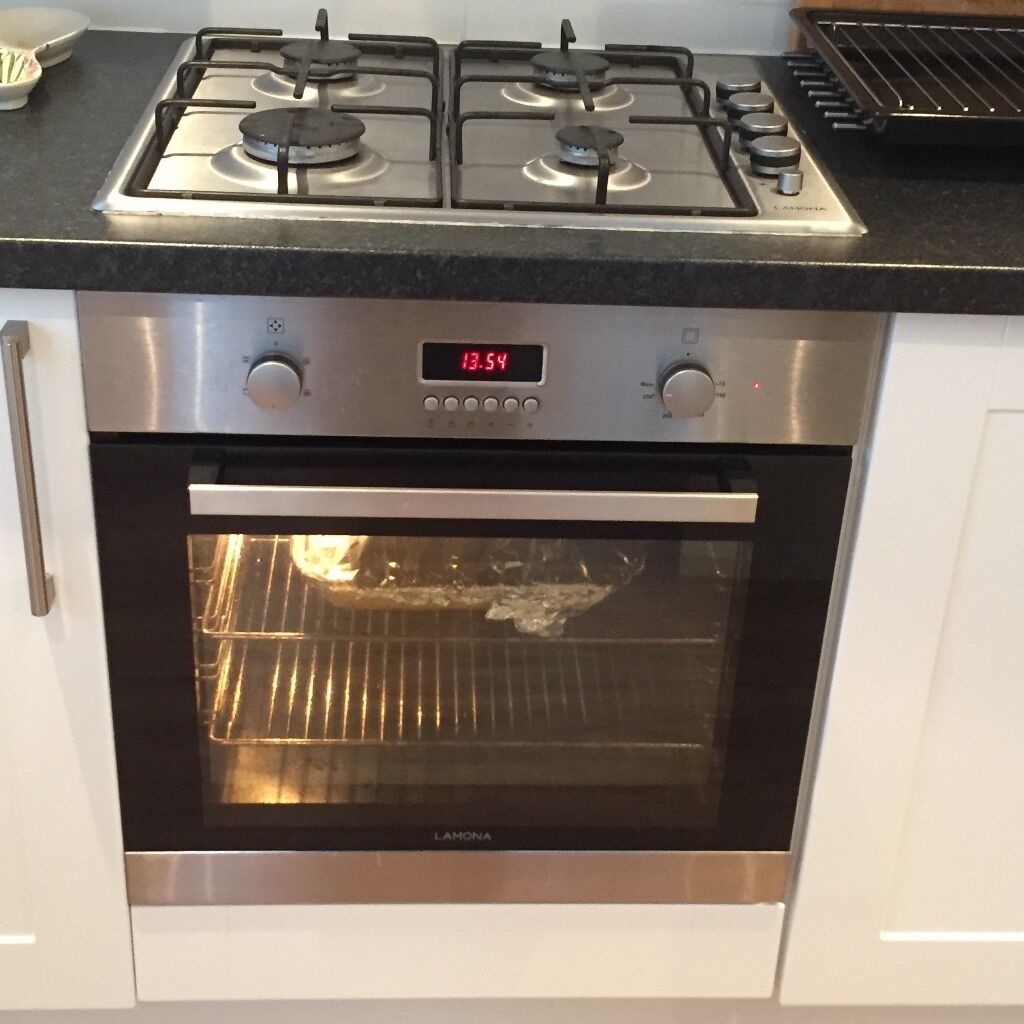 lamona electric fan oven and gas hob in plymouth devon. Black Bedroom Furniture Sets. Home Design Ideas