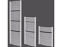 New Towel Radiator 740 x 600 Curved Heated Towel Rail Bathroom Ladder