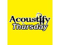 MUSICIANS WANTED - New Open mic Night TONIGHT