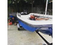 Orkney dory 14ft boat