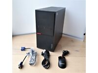 Lenovo ThinkCentre M900 i7 6700 Nvidia GT710 16GB DDR4 160GB SSD PC Desktop Computer