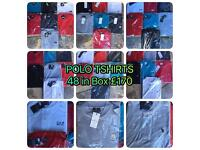 Mens all Brand Polo Tshirts STONE ISLAND LACOSTE ETC (moes clothing) Wholeale Only!!