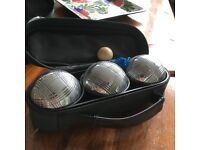 BRAND NEW STEEL BOULES SETS