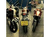 KTM duke 125cc 12plate