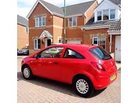 VAUXHALL CORSA, MOT 12 MONTHS, FULL HPI CLEAR, FULLY SERVIED, SERVICE HISTORY
