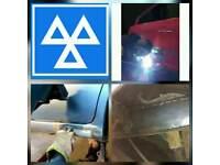 Mobile MOT rust repair.