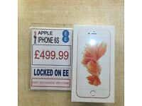 ** Apple iPhone 6s - 64GB - Rose Gold - Locked On EE - Brand New Sealed **