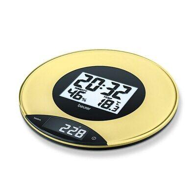 Beurer KS49 digitale Küchenwaage gelb 706.05