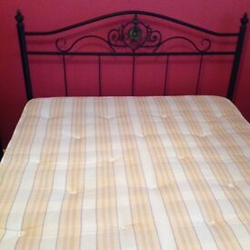 Double bed excellent condition, spare room occasional use