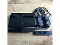 Sony PlayStation 3 / 2 x CONTROLLERS / 1 x SONY REMOTE / 6 GAMES / HDMI CABLE