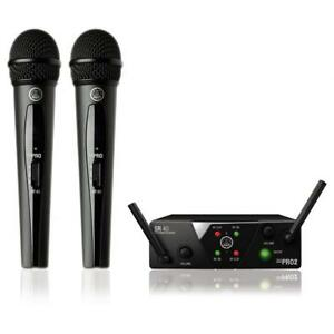 AKG - WMS40 Mini Dual vocal Set