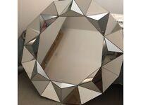 Round facet mirror from next