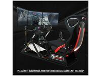 Next Level Flight Simulator Cockpit Chair Stand for Saitek