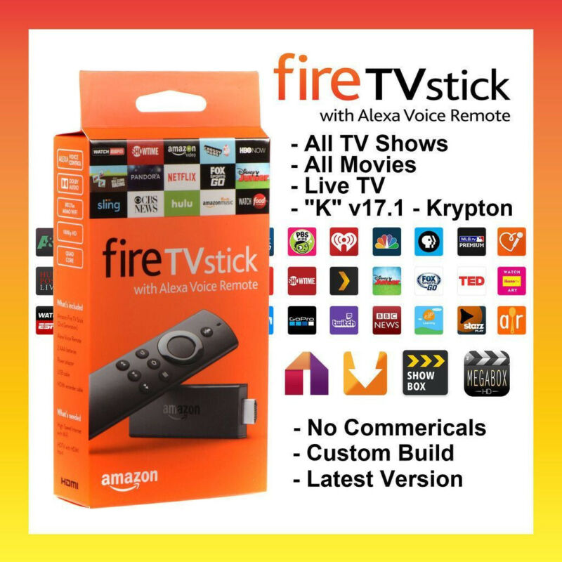 🔥NEW ENTIRELY UNLOCKED🔥 FIRE TV STICK W/ ALEXA🔥