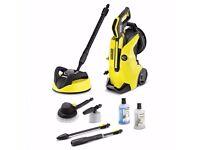Karcher K4 Premium Full Control Pressure Washer + Home Kit + Car Kit Brand New Call Me: 07886-722501