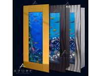 Azure Aquariums Wall Mounted Fish Tank - Various Sizes - BRAND NEW