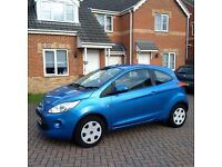 FORD KA 1.2 LITRE, FULL SERVICE HISTORY, MOT MARCH 2017, ROAD TAX £30