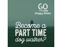 Part time dog walker wanted to join our team
