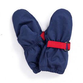 0-12 months Waterproof Fleece Lined Mittens