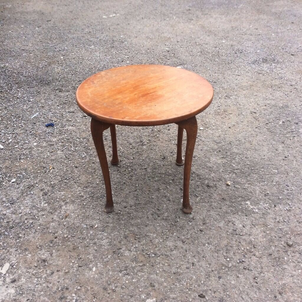 Small Occasional Mahogany Table