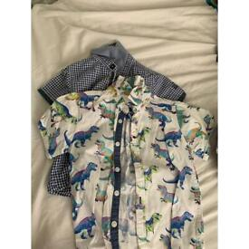 Boys shirts 2-3years