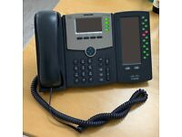 Cisco SPA504G Desktop Phone with Cisco SPA500DS Sidecar (Used)