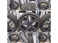 "Set of 4 19""Dotz quality german wheels"