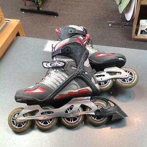 Rollerblade inline skates -Men's 9- grey/red/black (sku: Z15102)