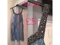 Dresses sizes 12 and 14 - ALL £5 OR LESS