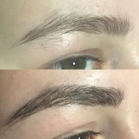 Model needed for Eyebrow Microblading. Includes 4-6 week colour top up