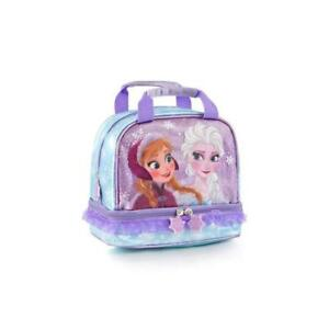 Heys Disney Deluxe Girls Lunch Bag - Frozen 8 Inch (Purple)