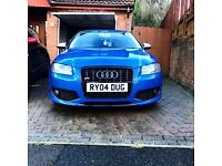 SPRINT BLUE AUDI S3, REVO,miltek and BOSE
